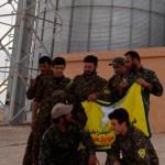 Kräfte der HSD im vom IS befreiten Hawl | Foto: ANF