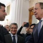 Besuch des Kovorsitzenden der HDP in Moskau
