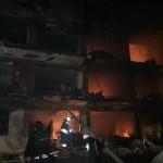 Anschlag auf Polizeihauptwache in Çinar