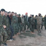 Gründungsfeier der ersten arabischen Militärakademie