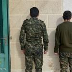 Entlassene YPG Kämpfer