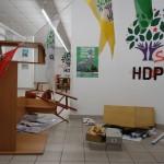 HDP-Büro in Berlin von Faschisten verwüstet