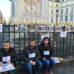 Hungerstreikende in Paris festgenommen