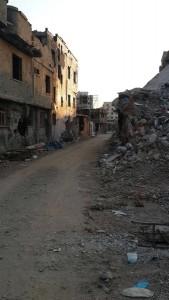 Zerstörungen in Cizîr