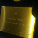 Abdullah Öcalan, Ehrenbürger von Neapel | Foto: ANF