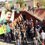 Amara - Am Geburtsort von Abdullah Öcalan wurde sein Geburtstag gefeiert und für seine Freilassung demonstriert | Foto: DIHA