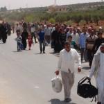 Flüchtlinge aus Cerablus