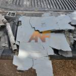 Flugzeugabsturz über den Medya-Verteidigungsgebieten