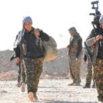 Kämpferinnen bei der Operation zur Befreiung Raqqas