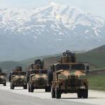 Türkische Armee in Ertuş - Südkurdistan