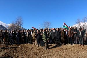 Dêrin-Peşmerge-Veteranen solidarisieren sich mit Kandil