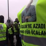 76 Internationalist*innen aus 15 Länder marschieren für die Freilassung Abdullah Öcalan