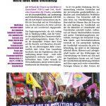 Der Frauen*protest gegen den G20-Gipfel wird laut und vielfältig