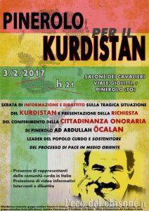 Pinerolo: Ehrenbürgerschaft für Abdullah Öcalan