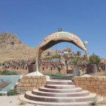 Şengal: Zerstörte Gedenkstätte neu aufgebaut