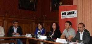 Pressekonferenz in Hamburg, auf der die Öffentlichkeit über den Fall informiert wird. | Foto: YÖP