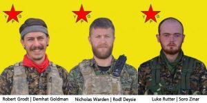 Raqqa: 3 Internationalisten im Kampf gegen den IS Gefallen