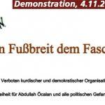 Kein Fußbreit dem Faschismus