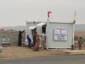 Im Einsatz für die Binnenflüchtlinge des Nordirak