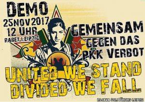 Demo: Gemeinsam gegen das PKK Verbot!