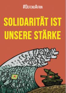 Überall ist Afrin– überall ist Widerstand!