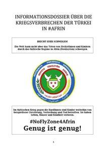 Dossier über die Kriegsverbrechen der Türkei in Afrin